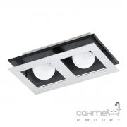 Светильник потолочный Eglo Bellamonte 1 96532 хай-тек, сталь, алюминий, хром, черный, алюминий, пластик, белый
