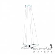 Люстра Eglo Nebreda 96639 хай-тек, модерн, сталь, алюминий, пластик, хром, белый