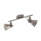Светильник потолочный Eglo Seras 96553 лофт, сталь, никель-античный, кремовый