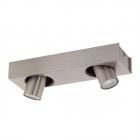 Светильник потолочный спот Eglo Robledo 1 96606 хай-тек, модерн, сталь, матовый никель, черный