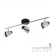 Светильник потолочный Eglo Moncalvio 96717 хай-тек, модерн, сталь, черный, хром
