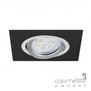 Светильник точечный Eglo Terni 1 96759 хай-тек, модерн, сталь, алюминий, анодированный черный