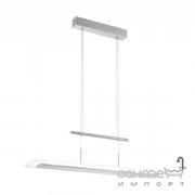 Люстра Eglo Manresa 96864 хай-тек, модерн, сталь, пластик, сатиновый никель, сатин