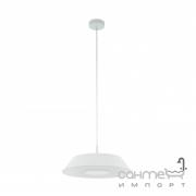 Люстра Eglo Carmazana 96868 хай-тек, модерн, сталь, матовое стекло, белый, прозрачный