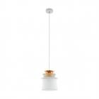 Люстра Eglo Scazon 96873 хай-тек, модерн, сталь, матовое стекло, белый, медный