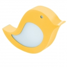 Светильник бра детский Eglo Sparino 96854 хай-тек, модерн, сталь, пленка, желтый, белый