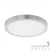 Светильник потолочный Eglo Fueva 1 97267 хай-тек, модерн, алюминий, пластик, серебристый, белый