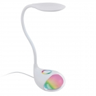 Настольная лампа RGB Eglo Cabado 1 97078 хай-тек, модерн, пластик, белый