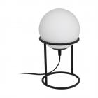 Настольная лампа Eglo Castellato 1 97331 хай-тек, модерн, сталь, стекло опал-мат, черный, белый