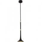 Подвесной LED-светильник Kutek Mood Loft LOFT LOF-ZW-1 (CZ) черный/латунь