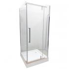 Душевая кабина без поддона Veronis KN-8-08 профиль хром, прозрачное стекло