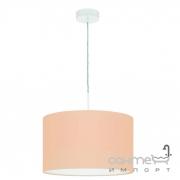 Люстра Eglo Pasteri-P 97561 хай-тек, модерн, сталь, ткань, белый, пастельный абрикосовый