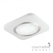 Светильник потолочный Eglo Puyo-S/Smart 97658 хай-тек, модерн, сталь, белый, сатиновый никель, пластик с эффектом хрусталя
