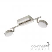 Светильник потолочный спот Eglo Corporoli-C/Connect 97715 пластик, сталь, сатиновый никель, белый