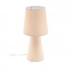 Настольная лампа Eglo Carpara 97567 хай-тек, модерн, ткань, пастельный абрикосовый