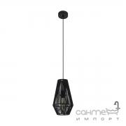 Люстра Eglo Palmones 97795 хай-тек, модерн, сталь, ткань, черный