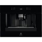Встраиваемая автоматическая кофемашина Electrolux KBC65Z черное стекло