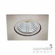 Светильник точечный встраиваемый Eglo Saliceto 98308 хай-тек, модерн, алюминий, матовый никель