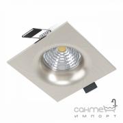 Светильник точечный встраиваемый Eglo Saliceto 98472 хай-тек, модерн, алюминий, матовый никель, стекло, прозрачный