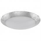 Светильник потолочный Eglo Montenovo 98024 арт-деко, сталь, стекло, белый, серебристый