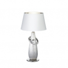 Настольная лампа Reality Lights Thebes R50641089 Серебро, Белый Абажур