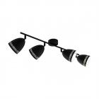 Светильник потолочный спот Eglo Sabatella 98169 хай-тек, модерн, сталь, черный, белый