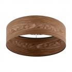 Светильник потолочный Eglo Cannafesca 98589 хай-тек, модерн, сталь, дерево, черный, коричневый