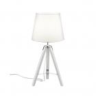 Настольная лампа Reality Lights Tripod R50991001 Белая