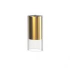 Плафон Nowodvorski Cameleon Cylinder S 8546 латунь/прозрачное стекло