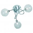 Люстра Reality Lights Wire R61323006 Хром, Прозрачное Стекло