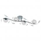 Люстра Reality Lights Wire R61354106 Хром, Прозрачное Стекло
