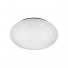 Светильник потолочный с защитой от брызг Reality Lights Putz R62684000 Белый Пластик с эффектом звездного света