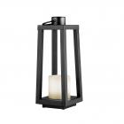 Декоративный светильник с эффектом мерцания пламени Reality Lights Loja R55176132 Черный