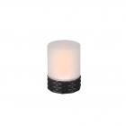 Декоративный светильник с эффектом мерцания пламени Reality Lights Parral  R55166132 Черный