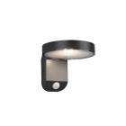 Настенный светильник с датчиком движения Reality Lights Posadas R22251142 Антрацит