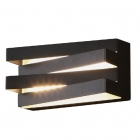 Настенный светильник Maxlight Araxa W0178 авангард, черный, металл