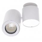 Светильник потолочный спот Maxlight Barro C0036 хай-тек, белый, металл