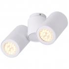 Светильник потолочный спот Maxlight Barro II C0113 хай-тек, белый, металл