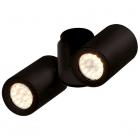 Светильник потолочный спот Maxlight Barro II C0114 хай-тек, черный, металл
