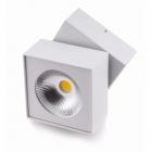 Точечный светильник накладной Maxlight Artu C0106 хай-тек, белый, металл