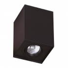 Точечный светильник накладной Maxlight Basic Square C0071 хай-тек, черный, металл