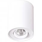 Точечный светильник накладной Maxlight Basic Round C0067 хай-тек, белый, металл