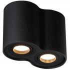 Точечный светильник накладной Maxlight Basic Round II C0086 хай-тек, черный, металл