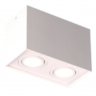 Точечный светильник накладной Maxlight Basic Square II C0088 хай-тек, белый, металл