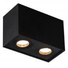 Точечный светильник накладной Maxlight Basic Square II C0089 хай-тек, черный, металл