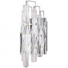 Настенный светильник бра Maxlight Bilbao 3817/3W модерн, прозрачный, хром, стекло, металл