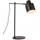 Настольная лампа Maxlight Black T0025 винтаж, черный, металл