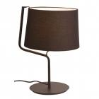 Настольная лампа Maxlight Chicago T0029 неоклассика, черный, текстиль, металл