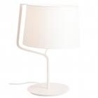 Настольная лампа Maxlight Chicago T0028 неоклассика, белый, текстиль, металл
