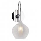 Настенный светильник бра Maxlight City W0248 модерн, прозрачный, хром, стекло, металл